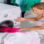 علت تمیز نشستن لباس ها در ماشین لباسشویی