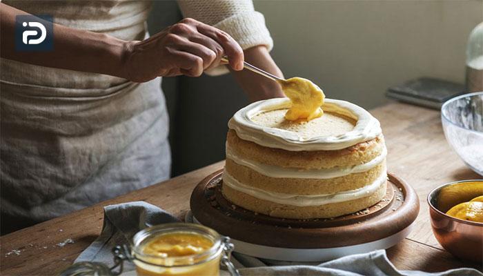 نحوه پخت کیک در فرگاز