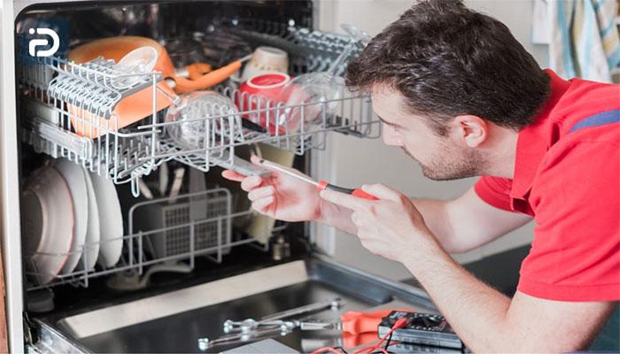 تعویض کنترل رابط کاربری ماشین ظرفشویی