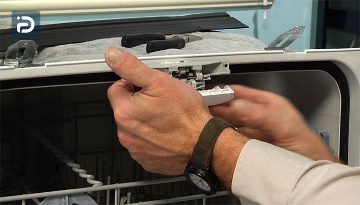 آموزش تعمیر قفل درب ماشین ظرفشویی
