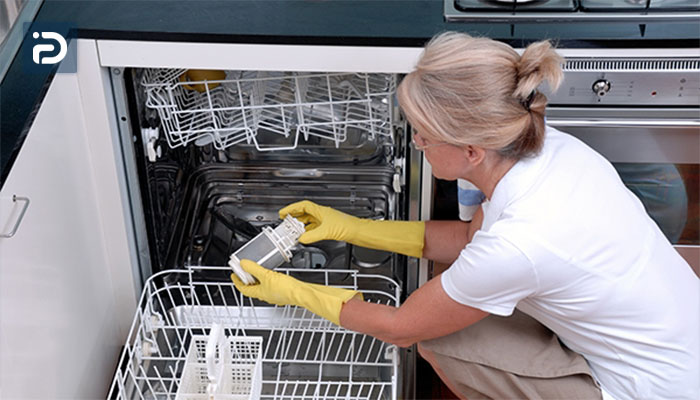 نحوه تمیز کردن فیلتر ماشین ظرفشویی