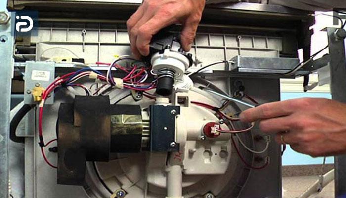 نحوه تعمیر جت پمپ ماشین ظرفشویی
