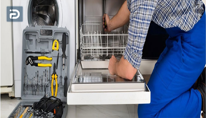 نحوه تعویض واشر درب ماشین ظرفشویی