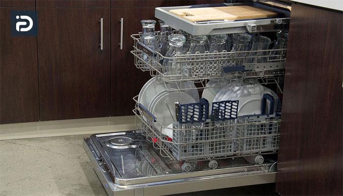 نحوه شستشوی ظروف در ماشین ظرفشویی