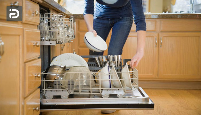 تعویض موتور دایورتر ماشین ظرفشویی