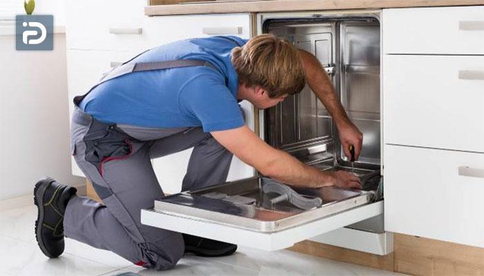 علت برق داشتن ماشین ظرفشویی
