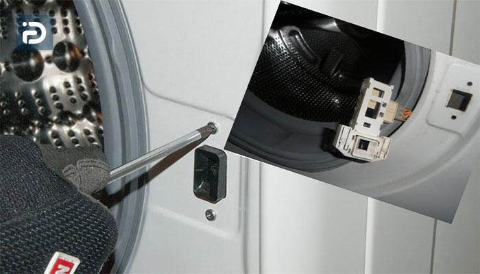 نحوه باز کردن قفل درب ماشین لباسشویی