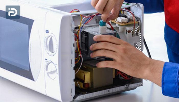 آموزش تعمیر فن ماکروفر